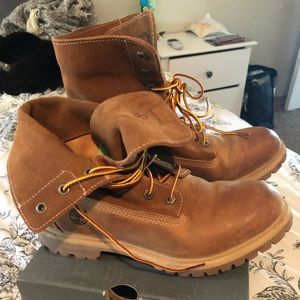 203e924f13f8 ... shoes jewels timberlands red timberlands timberland rouge. 2018-12-11  10 37 57. arrives b2845 7bcab Authentics Rolltop Timberland Boots Wheat  Leather ...
